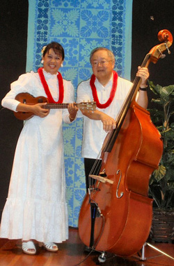 The Hawaiian Serenaders convey the song and look of old Hawaii in concert