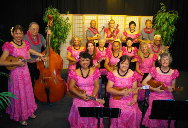 Ukulele Pops Band of Maui