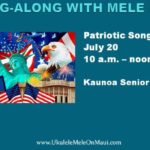 July sing-along